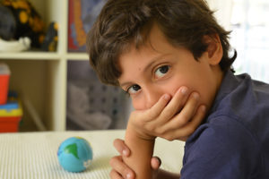 Boy having combined hypnotherapy