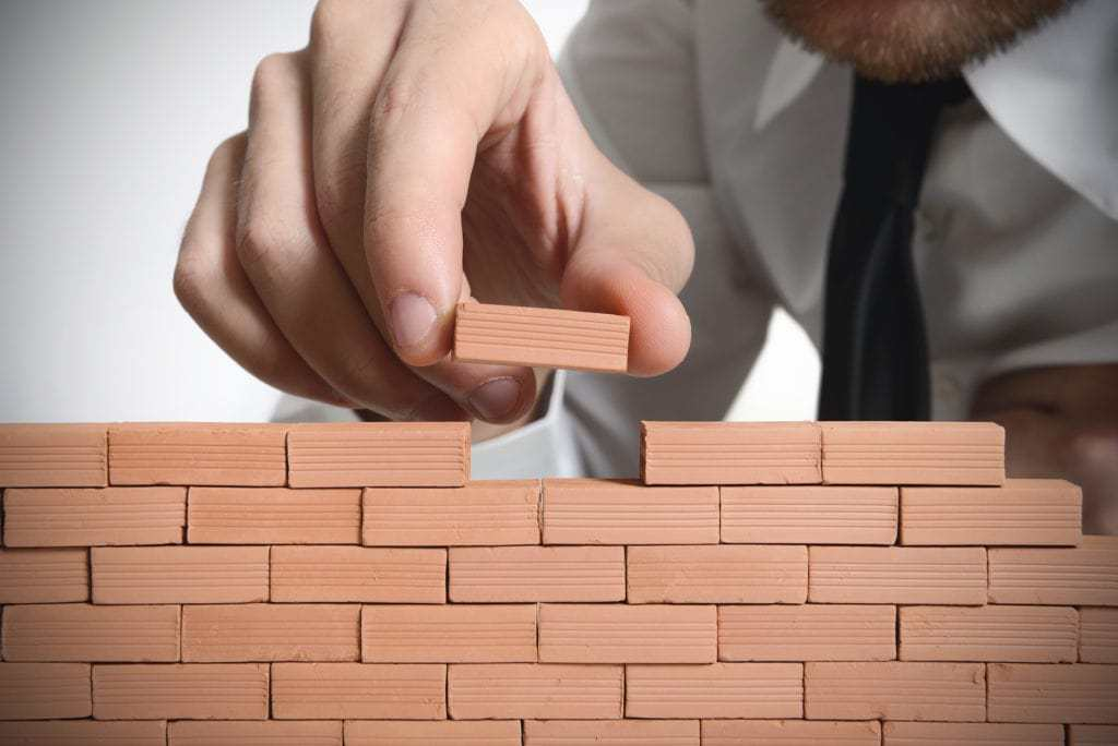 Man with bricks Responsive Hypnotherapy
